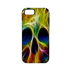 Skulls Multicolor Fractalius Colors Colorful Apple Iphone 5 Classic Hardshell Case (pc+silicone) by BangZart