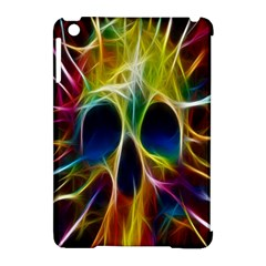 Skulls Multicolor Fractalius Colors Colorful Apple Ipad Mini Hardshell Case (compatible With Smart Cover) by BangZart