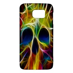 Skulls Multicolor Fractalius Colors Colorful Galaxy S6