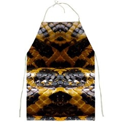Textures Snake Skin Patterns Full Print Aprons
