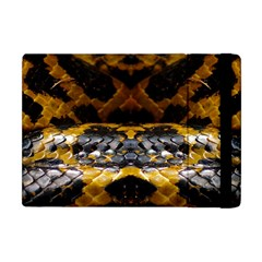 Textures Snake Skin Patterns Apple Ipad Mini Flip Case
