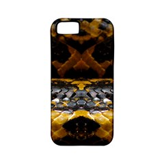 Textures Snake Skin Patterns Apple Iphone 5 Classic Hardshell Case (pc+silicone) by BangZart