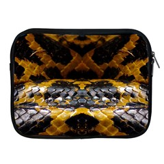 Textures Snake Skin Patterns Apple Ipad 2/3/4 Zipper Cases