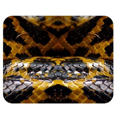 Textures Snake Skin Patterns Double Sided Flano Blanket (medium)