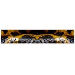 Textures Snake Skin Patterns Flano Scarf (large)