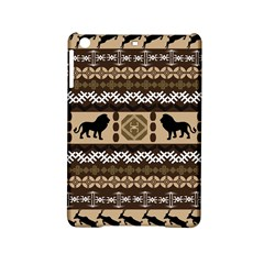 Lion African Vector Pattern Ipad Mini 2 Hardshell Cases