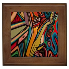 Vivid Colours Framed Tiles