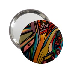 Vivid Colours 2 25  Handbag Mirrors
