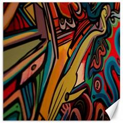 Vivid Colours Canvas 16  X 16