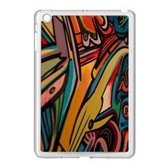 Vivid Colours Apple Ipad Mini Case (white)