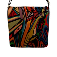 Vivid Colours Flap Messenger Bag (l)  by BangZart