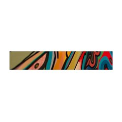 Vivid Colours Flano Scarf (mini)