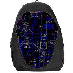 Technology Circuit Board Layout Backpack Bag