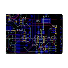 Technology Circuit Board Layout Apple Ipad Mini Flip Case