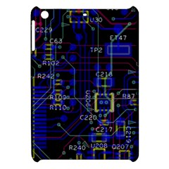 Technology Circuit Board Layout Apple Ipad Mini Hardshell Case by BangZart