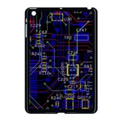 Technology Circuit Board Layout Apple Ipad Mini Case (black) by BangZart