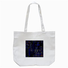 Technology Circuit Board Layout Tote Bag (white)