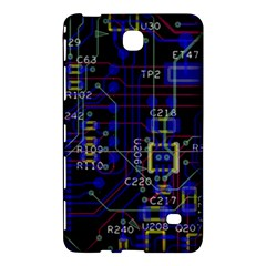 Technology Circuit Board Layout Samsung Galaxy Tab 4 (7 ) Hardshell Case  by BangZart