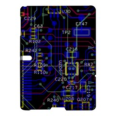 Technology Circuit Board Layout Samsung Galaxy Tab S (10 5 ) Hardshell Case