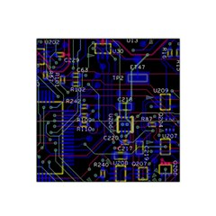 Technology Circuit Board Layout Satin Bandana Scarf