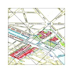 Paris Map Acrylic Tangram Puzzle (6  X 6 )