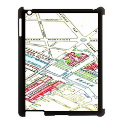 Paris Map Apple Ipad 3/4 Case (black) by BangZart