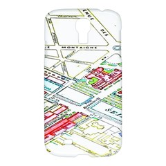 Paris Map Samsung Galaxy S4 I9500/i9505 Hardshell Case
