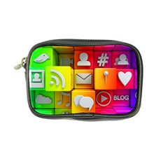 Colorful 3d Social Media Coin Purse