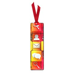 Colorful 3d Social Media Small Book Marks
