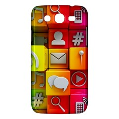 Colorful 3d Social Media Samsung Galaxy Mega 5 8 I9152 Hardshell Case  by BangZart