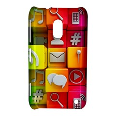 Colorful 3d Social Media Nokia Lumia 620 by BangZart