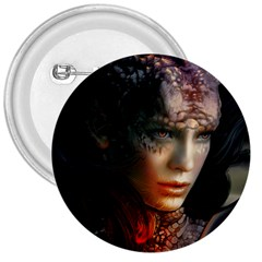 Digital Fantasy Girl Art 3  Buttons