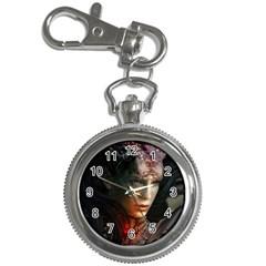Digital Fantasy Girl Art Key Chain Watches