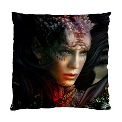 Digital Fantasy Girl Art Standard Cushion Case (two Sides)
