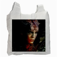 Digital Fantasy Girl Art Recycle Bag (two Side)
