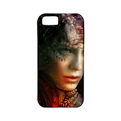 Digital Fantasy Girl Art Apple Iphone 5 Classic Hardshell Case (pc+silicone) by BangZart