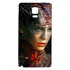 Digital Fantasy Girl Art Galaxy Note 4 Back Case