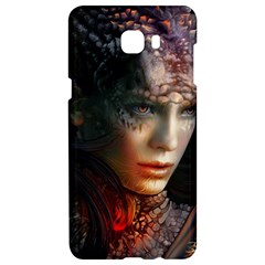 Digital Fantasy Girl Art Samsung C9 Pro Hardshell Case