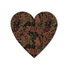 Digital Camouflage Heart Magnet