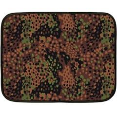 Digital Camouflage Double Sided Fleece Blanket (mini)