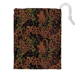 Digital Camouflage Drawstring Pouches (xxl) by BangZart