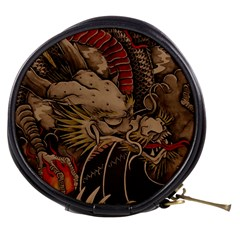 Chinese Dragon Mini Makeup Bags