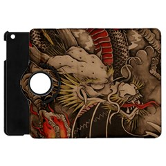 Chinese Dragon Apple Ipad Mini Flip 360 Case