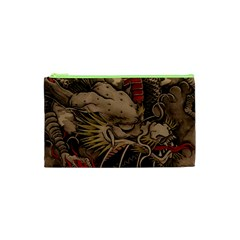 Chinese Dragon Cosmetic Bag (xs)