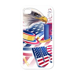 United States Of America Usa  Images Independence Day Apple Iphone 4 Case (white)