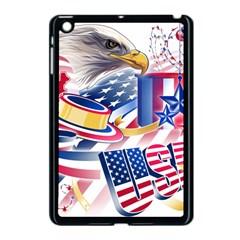 United States Of America Usa  Images Independence Day Apple Ipad Mini Case (black)