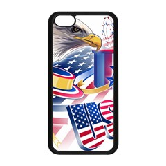 United States Of America Usa  Images Independence Day Apple Iphone 5c Seamless Case (black)