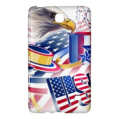 United States Of America Usa  Images Independence Day Samsung Galaxy Tab 4 (8 ) Hardshell Case  by BangZart