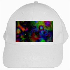 Full Colors White Cap