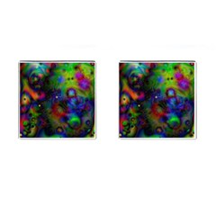 Full Colors Cufflinks (square) by BangZart